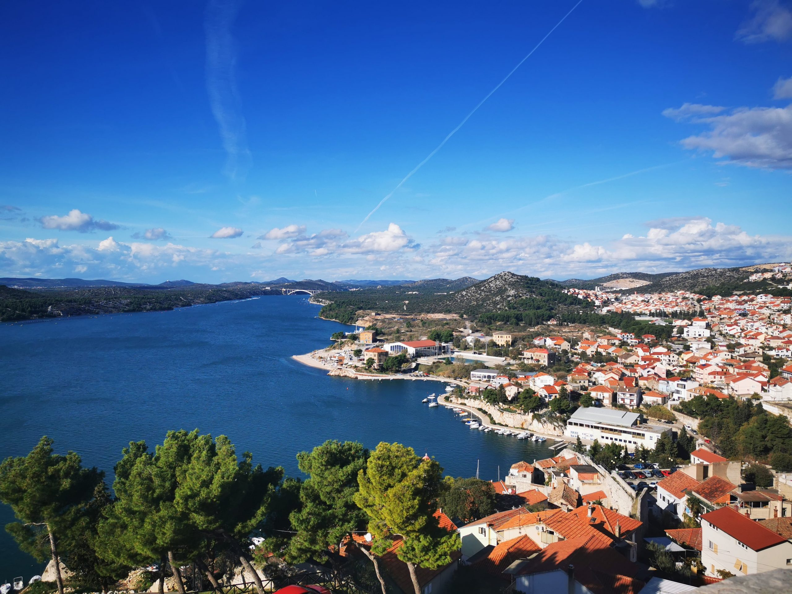 View in Šibenik
